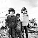 Faces of a Refugee Camp - Kowergosk #5 by Jacob Simkin