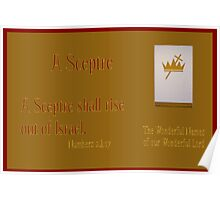 A Sceptre Shall Rise Out of Israel Poster