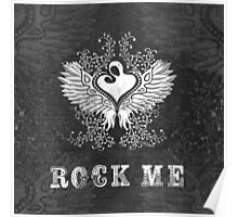 ROCK ME winged heart mother and child Poster
