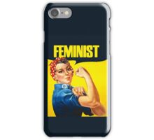 Feminist iPhone Case/Skin
