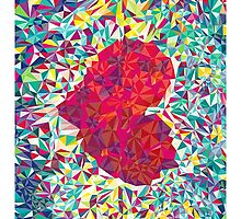 Abstract Heart by Mirche Toshevski