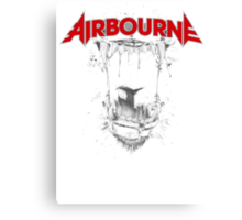 Airbourne - Black Dog Canvas Print