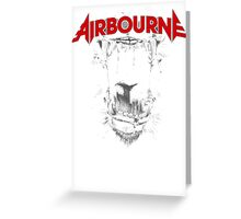 Airbourne - Black Dog Greeting Card