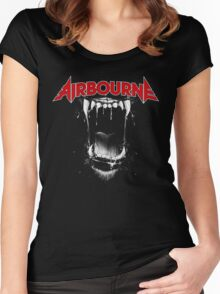 Airbourne - Black Dog Women's Fitted Scoop T-Shirt