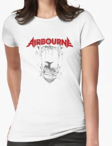 Airbourne - Black Dog Womens Fitted T-Shirt