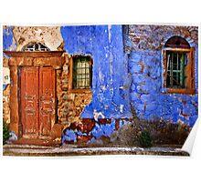 Old house in Vessa village Poster
