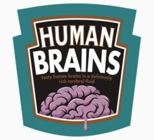 Human Brains One Piece - Short Sleeve