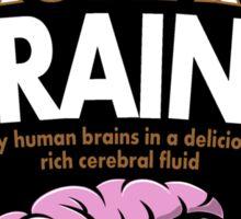 Human Brains Sticker