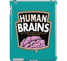 Human Brains iPad Case/Skin