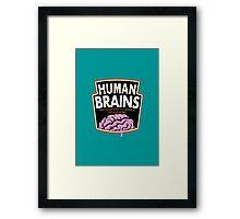 Human Brains Framed Print
