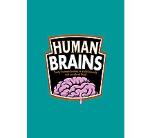 Human Brains Photographic Print