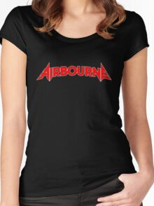 Airbourne (title) Women's Fitted Scoop T-Shirt