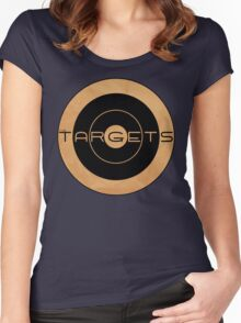 Targets T - Shirt Women's Fitted Scoop T-Shirt