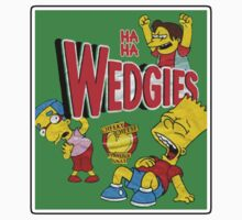 The Simpsons - Wedgies! by HalfFullBottle