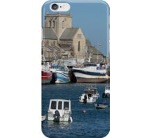 The Harbor at Barfleur iPhone Case/Skin