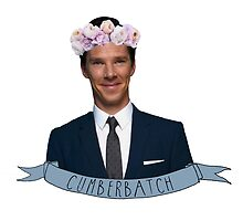 Cumberbatch - Flower Crown by thrandys-crown