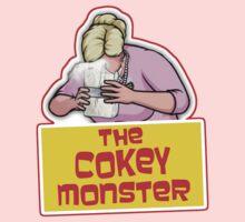 Archer - Pam, The Cokey Monster by HalfFullBottle