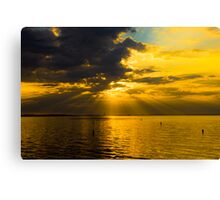 The Warmth of The Morning Dawn Canvas Print