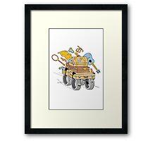 A wheely good vacation Framed Print