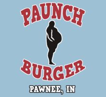 Parks and Rec - Paunch Burger by HalfFullBottle