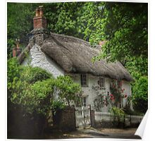 Old English Thatched Cottage Poster