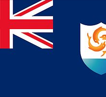 FLAGS OF THE WORLD / A-F / Anguilla by yolopro