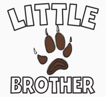 Little Brother Bear Paw Kids Tee