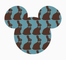 Chocolate bunny's in Mickey Mouse by sweetsisters
