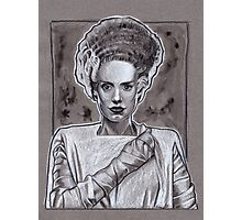 Bride Of Frankenstein Photographic Print