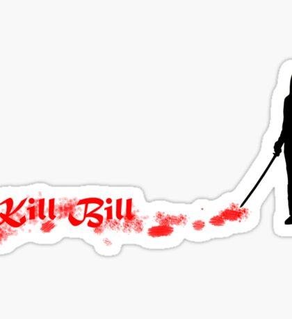 Kill Bill Bloody Sticker