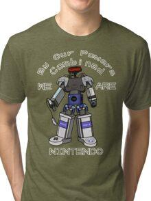 Nintendo Megazord Tri-blend T-Shirt