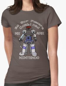Nintendo Megazord Womens Fitted T-Shirt