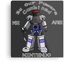 Nintendo Megazord Metal Print