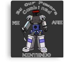 Nintendo Megazord Canvas Print