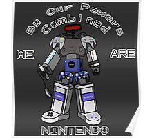 Nintendo Megazord Poster