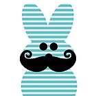 Mustache Easter Peep by sweetsisters
