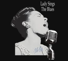 Lady Sings The Blues by LetThemEatArt