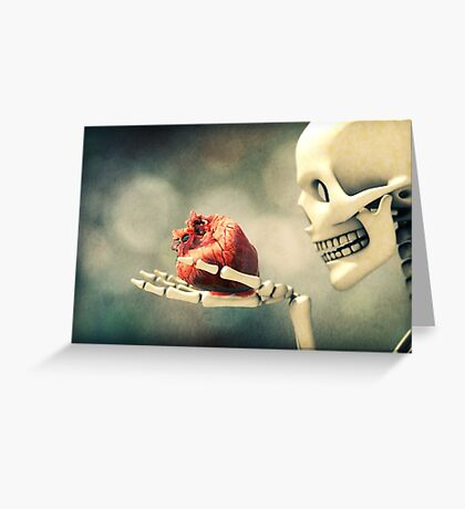 All I Ever Wanted Was Your Heart Greeting Card