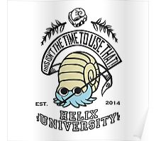 Helix Fossil University 2 Poster