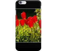tulip impressions (square) iPhone Case/Skin