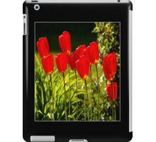 tulip impressions (square) iPad Case/Skin