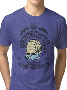 Helix Fossil University 2 Tri-blend T-Shirt