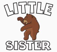 Little Sister Bear Kids Tee