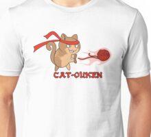 Cat-Ouken  (with Text) Unisex T-Shirt