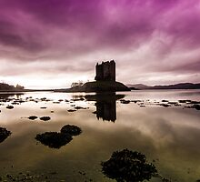 Castle Stalker Scotland by Gary Power