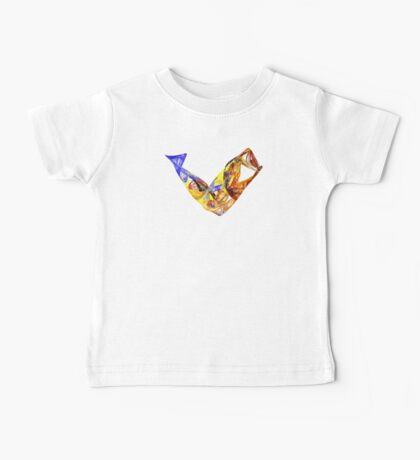 Fractal - Leaping Fish  Baby Tee