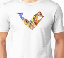 Fractal - Leaping Fish  Unisex T-Shirt