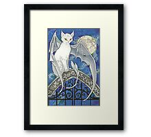 The Watcher at the Gate Framed Print