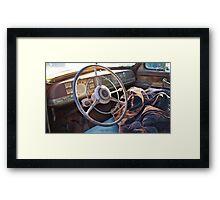 1940s Dodge, North Carolina Framed Print