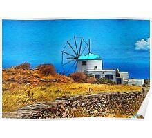 Bella Vista Windmill Poster